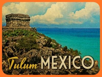 Tulum Postcard