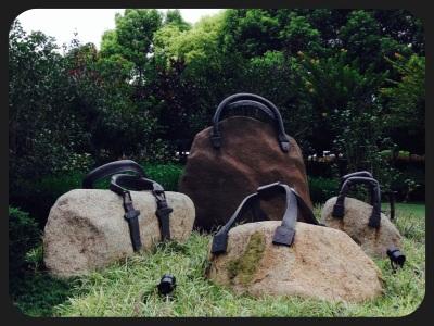 purse garden